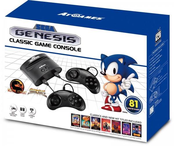 Sega Genesis Mega Drive Classic Retro Konsole mit 81 Spielen