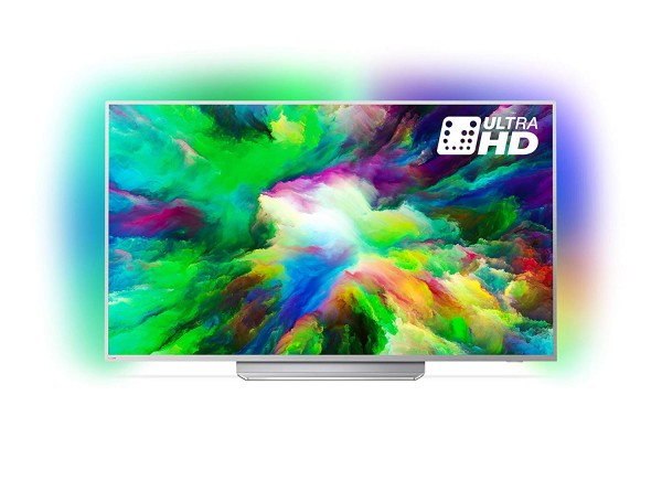 Philips 65PUS7803/12 (silber) 65 Zoll 4K UHD LED Android Ambilight Smart TV EEK A+