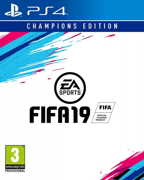 Fifa 19 Champions Edition PS4 Spiel *NEU OVP*