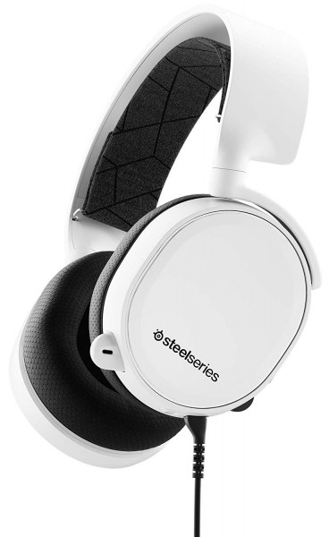 SteelSeries Arctis 3 Weiß 2019 Edition - Gaming Headset - für PC, PlayStation 4, Xbox One, Nintendo