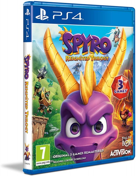 Spyro Reignited Trilogy PS4 EU Version