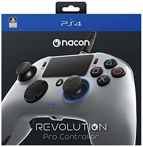 Nacon Revolution Pro PS4 Controller Grau PlayStation 4
