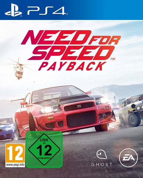 Need for Speed Payback PS4 Spiel *NEU OVP* NFS Payback Playstation 4
