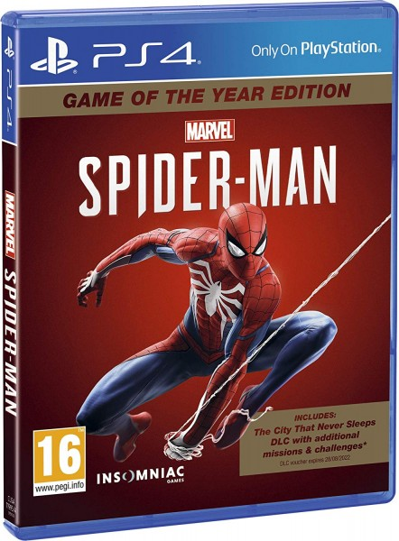 Marvels Spider-Man GOTY englische Version PS4