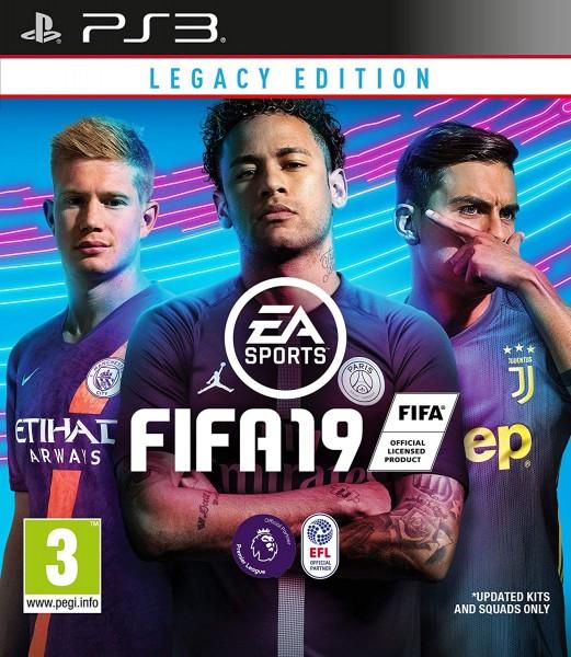 Fifa 19 PS3 Spiel Legacy Edition EU Version