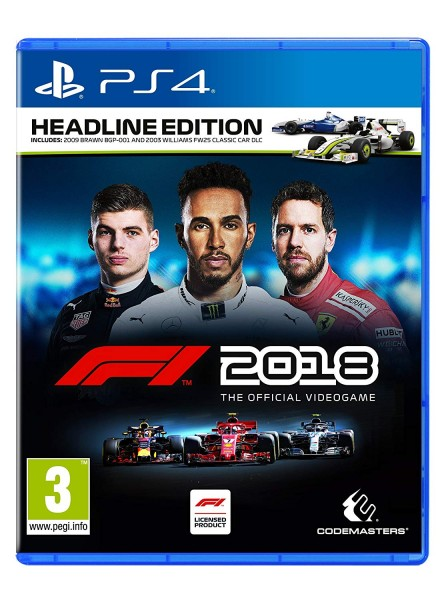 F1 2018 Headline Edition PS4 Spiel EU Version