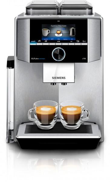 Siemens Kaffeevollautomat TI9578X1DE EQ.9 plus connect S700 (silber)