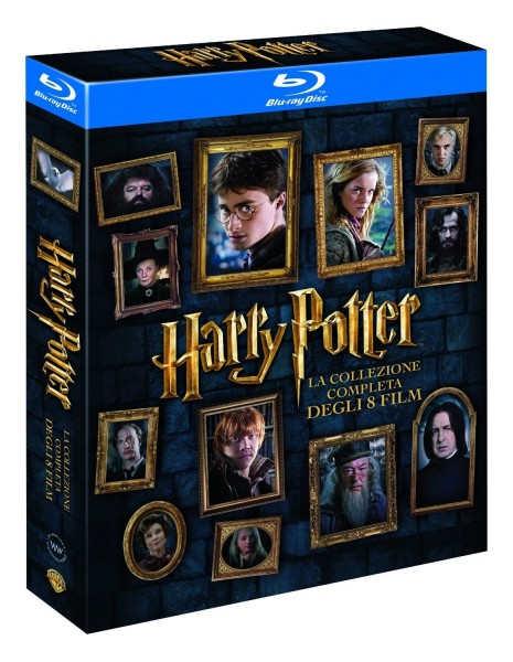Harry Potter - The Complete Collection 8 Blu Rays