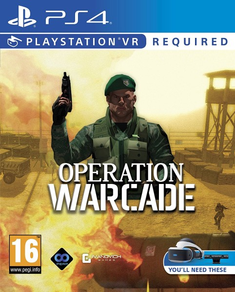 Operation Warcade PS4 VR Spiel