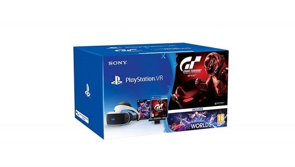 PlayStation 4 Virtual Reality + Kamera + VR Worlds + GT Sport PS4 VR Bundle