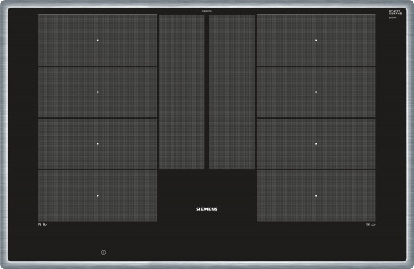 Siemens EX845LYC1E iQ700 Induktionskochfeld 80 cm Schwarz, autark
