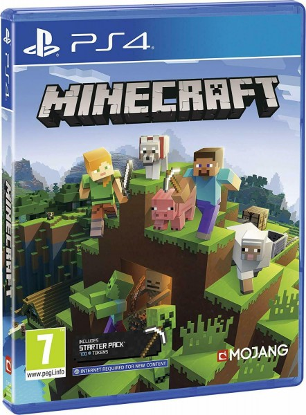 Minecraft Bedrock Edition PS4 EU Version