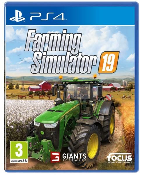 Landwirtschafts Simulator 19 PS4 Spiel EU Version (deutsch spielbar)