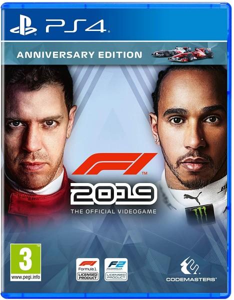 F1 2019 Jubiläums Edition PS4 EU Version