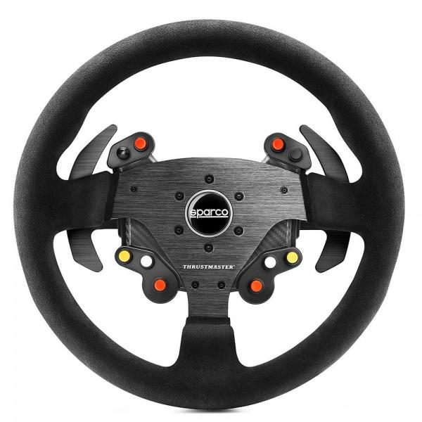 Thrustmaster TM Rally Wheel AddOn Sparco R383 Mod 33 cm, Wildleder, PS4 / PS3 / Xbox One / PC