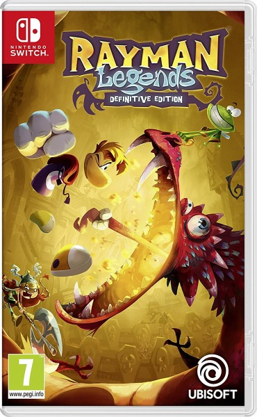 Rayman Legends Definitive Edition Nintendo Switch Spiel *NEU OVP*