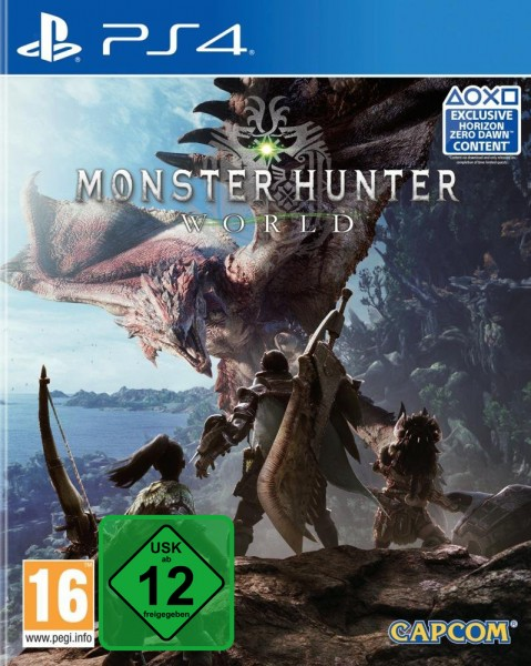 Monster Hunter World PS4 EU Version