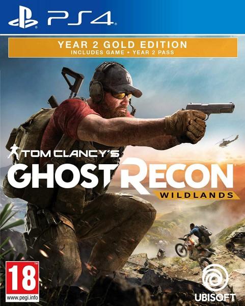 Tom Clancy's Ghost Recon Wildlands - Year 2 Gold Edition PS4 Spiel