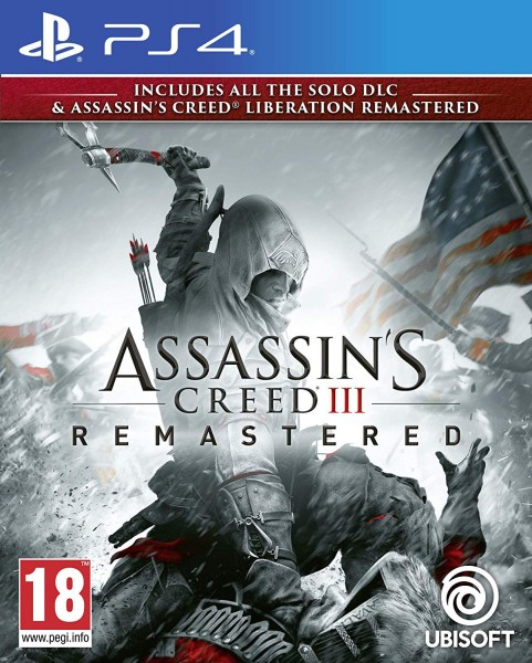 Assassin's Creed III Remastered PS4 EU Version