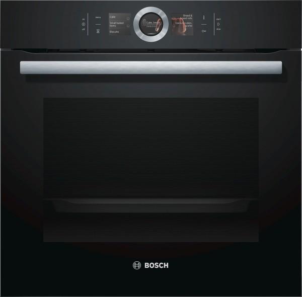 Einbaubackofen Bosch HBG676EB6 (schwarz) Perfect Roast Home Connect EEK:A+