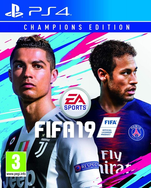 Fifa 19 Champions Edition PS4 Spiel ENG/ RUS *NEU OVP*