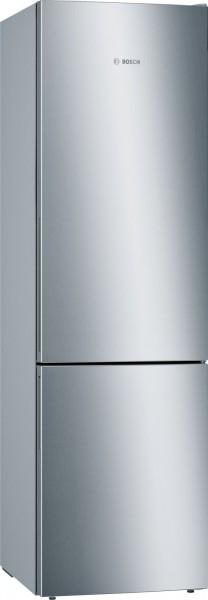 KGE39VI4A Serie 4 Freistehende Kühl-Gefrier-Kombination mit Gefrierbereich unten 60 cm, inox-antifin