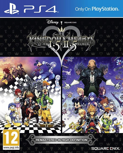 Kingdom Hearts HD 1.5 & 2.5 Remix PS4 EU Version