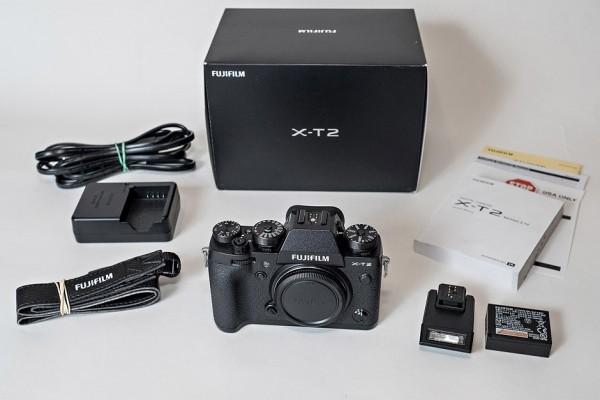 Fujifilm X-T2 Body schwarz NEU OVP