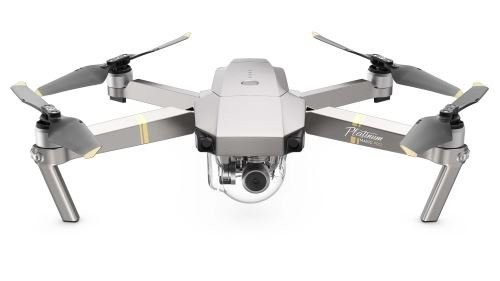 DJI Mavic Pro Platinum Combo - Drohne mit 4K Kamera inkl. Fernsteuerung - Platin