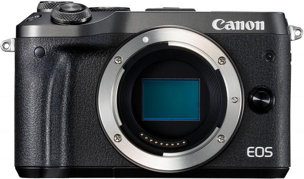 Canon EOS M6 Systemkamera Body schwarz