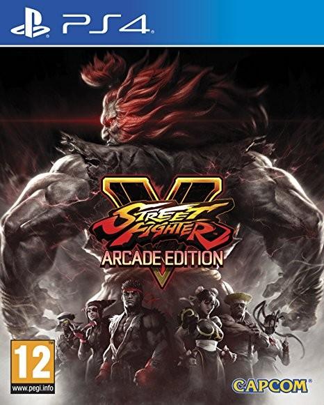 Street Fighter V Arcade Edition PS4 Spiel *NEU OVP* Street Fighter 5 Playstation 4
