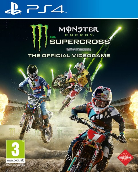 Monster Energy Supercross - The official Videogame PS4 EU Version