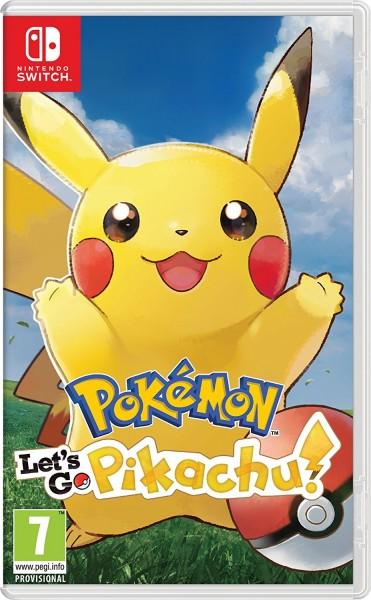 Pokemon: Lets Go, Pikachu ! Nintendo Switch Spiel
