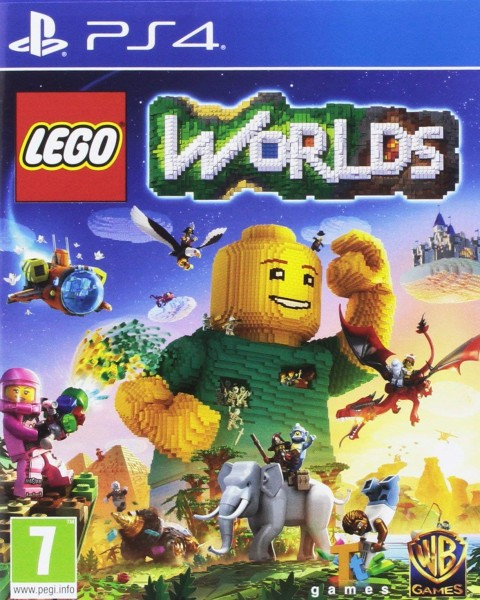 Lego Worlds PS4 EU Version