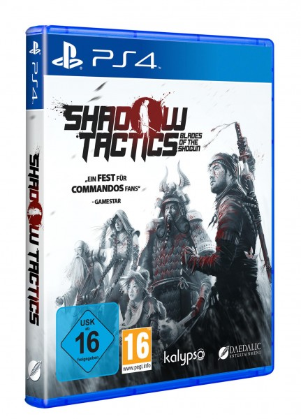 Shadow Tactics: Blades of the Shogun PS4 Spiel NEU OVP Playstation 4