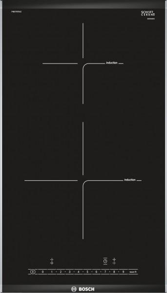Bosch PIB375FB1E Serie 6 Domino-Kochfeld, Induktion 30 cm