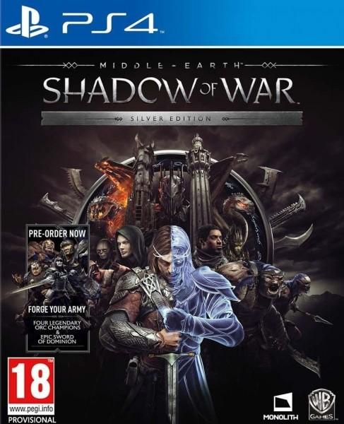 Mittelerde: Schatten des Krieges Silver Edition PS4 Spiel incl. Steelbook *NEU OVP*