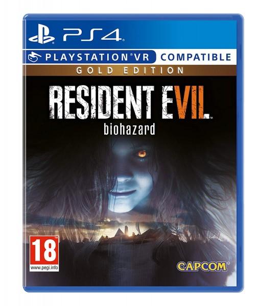 Resident Evil 7 Gold Edition PS4 Spiel VR