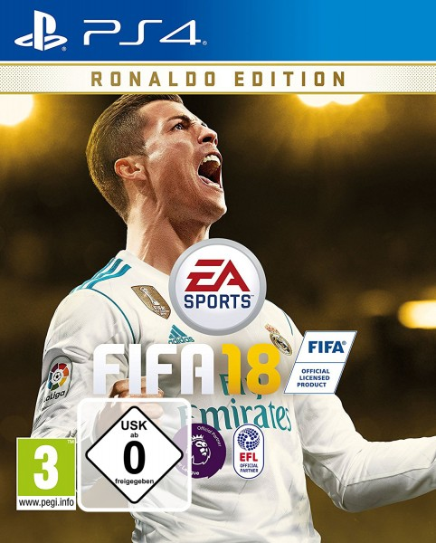 Fifa 18 Ronaldo Edition PS4 Spiel EU Version