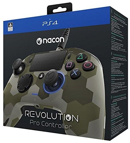 Nacon Revolution Pro PS4 Controller Camo Green PlayStation 4
