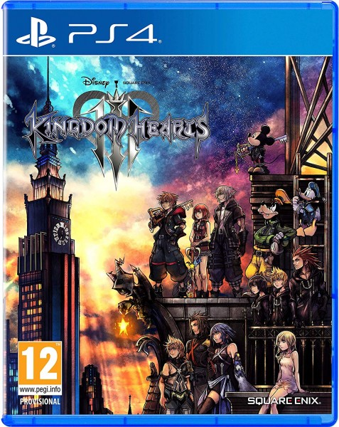 Kingdom Hearts 3 III PS4 EU Version