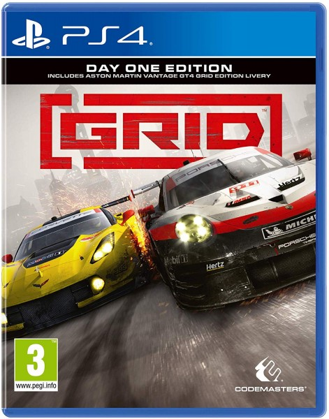 GRID Day One Edition PS4 EU Version