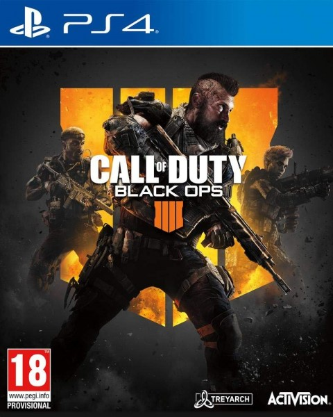 Call of Duty Black Ops 4 Uncut UK englische Version PS4 Spiel