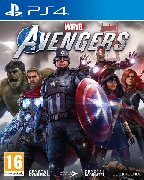 Marvel Avengers PS4 EU Version