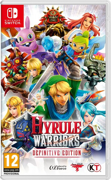 Hyrule Warriors Definitive Edition Nintendo Switch Spiel *NEU OVP*