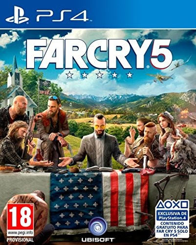 Far Cry 5 PS4 Spiel *NEU OVP* FarCry 5 Playstation 4