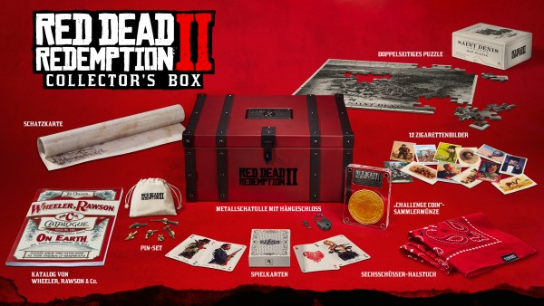 Red Dead Redemption 2 Collectors Edition Box !