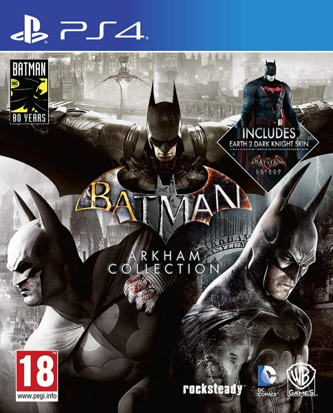 Batman Arkham Collection Steelbook Edition PS4 EU Version