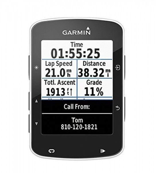 Garmin Edge 520 GPS-Fahrradcomputer - 2,3'' Display