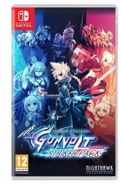 Azure Striker Gunvolt: Striker Pack Nintendo Switch Spiel *NEU OVP*